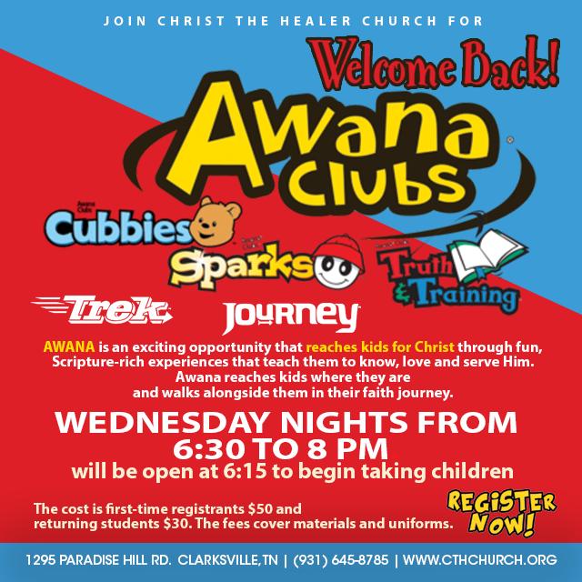 Awana-social welcome back